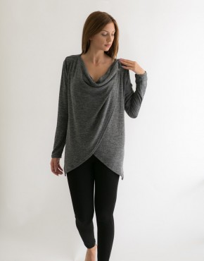 Knitted warm top