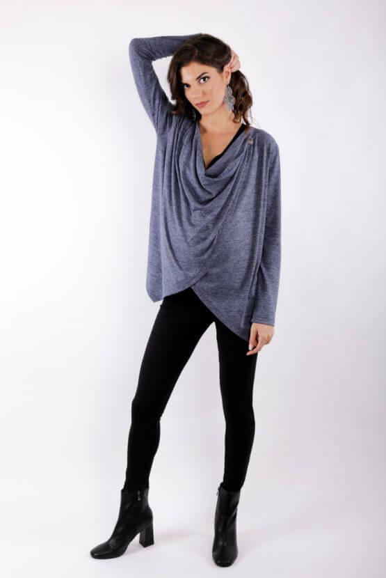 μπλουζα θηλασμου Knitted warm