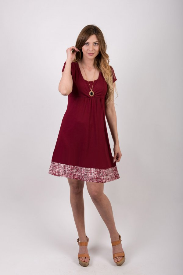 Φορεμα θηλασμου red