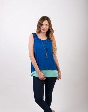 Μπλουζα θηλασμου blue