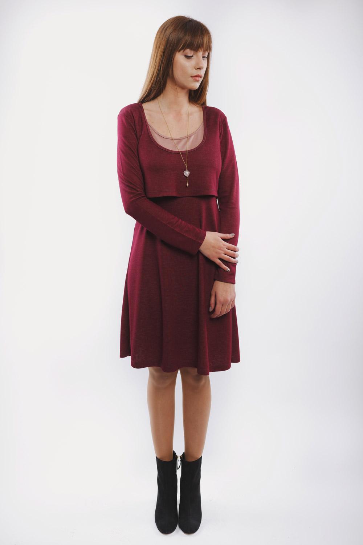 φορεμα θηλασμου midnight red