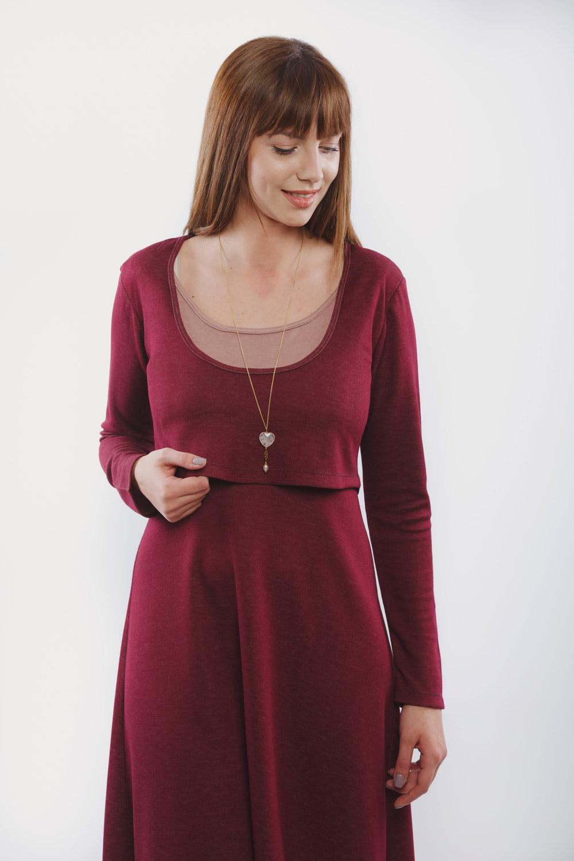 Φορεμα θηλασμου midnight red  Δωρεάν μεταφορικά ανω 80 ...