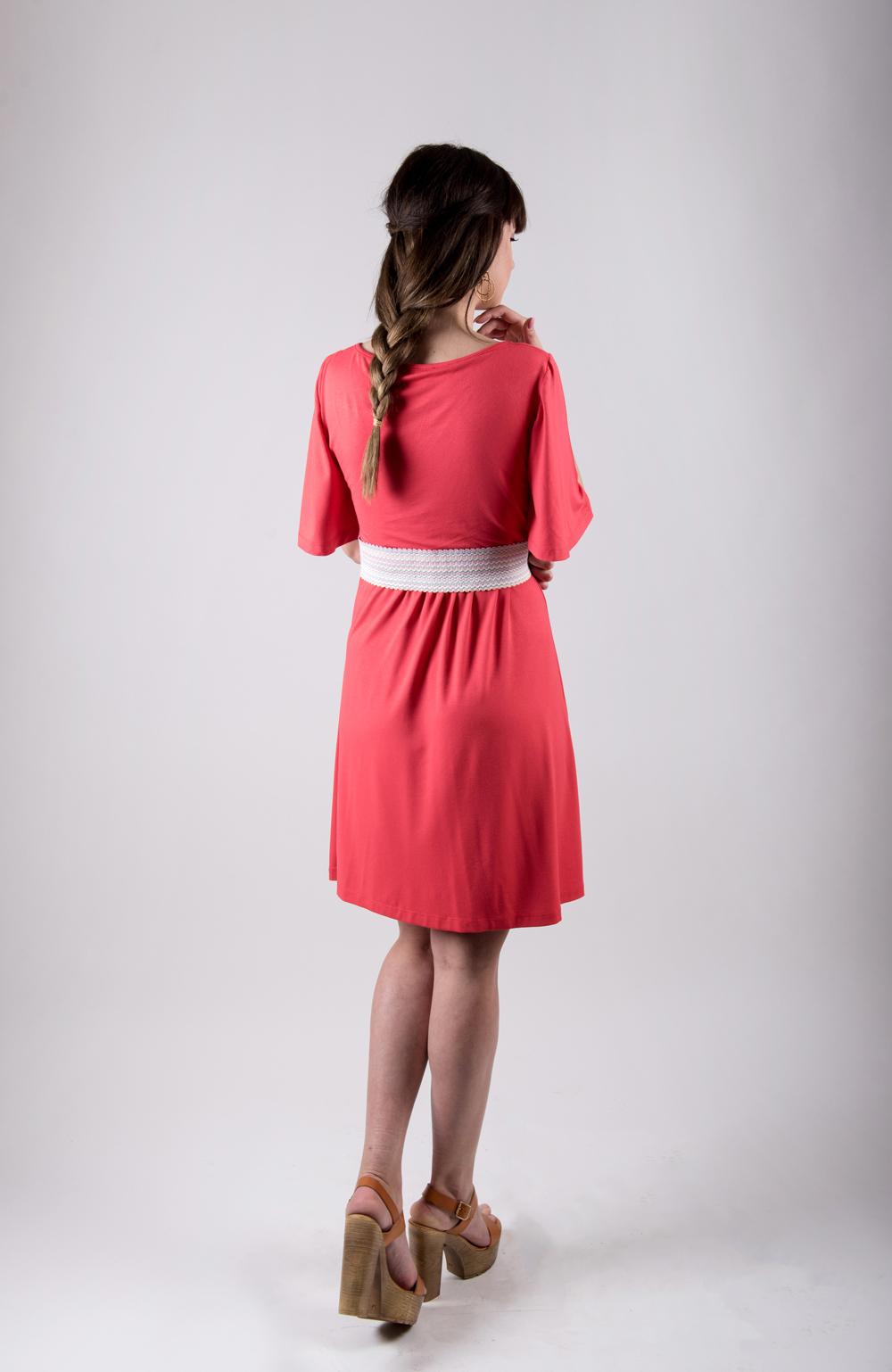Φορεμα θηλασμου Coral | Δωρεάν αποστολή άνω των 80€ | koupepe.com