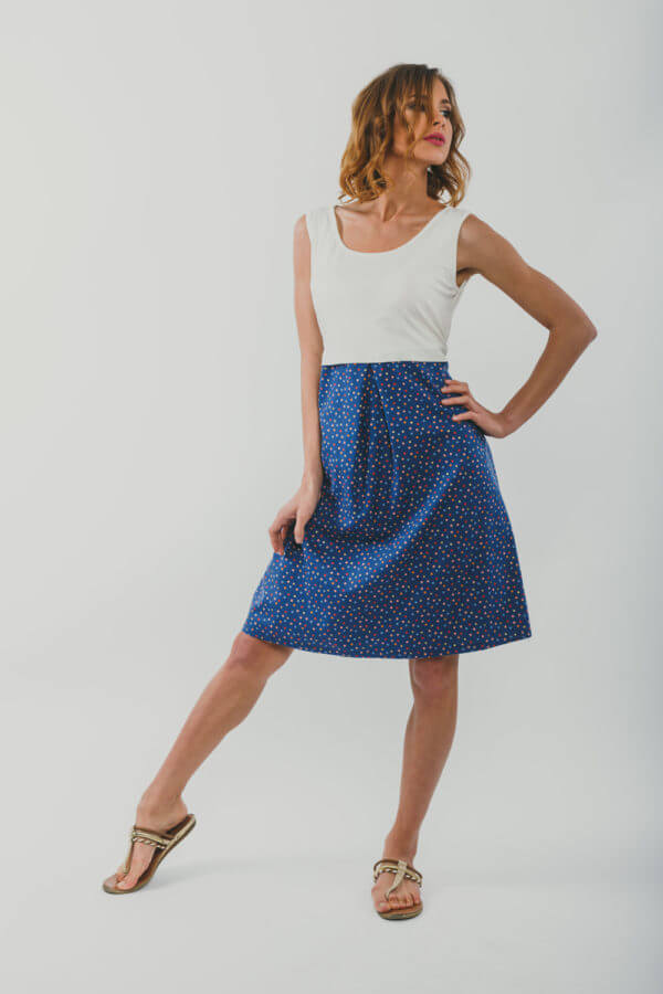 φόρεμα θηλασμου Color dot