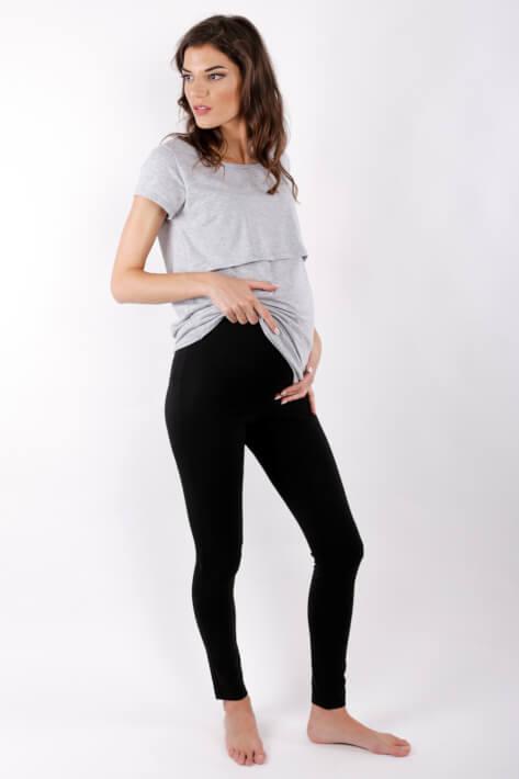 Κολάν εγκυμοσύνης total black