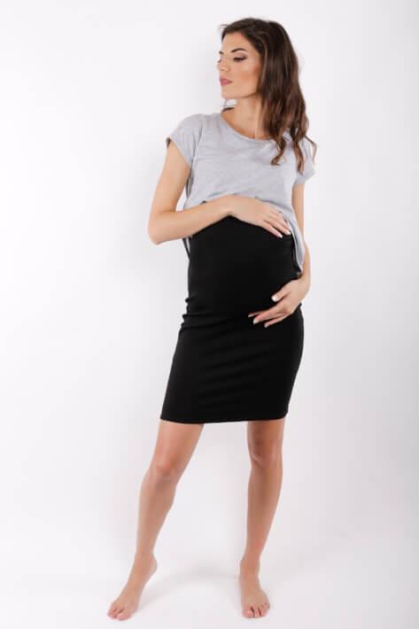 φουστα εγκυμοσύνης tight blackMaternity Pencil Skirt