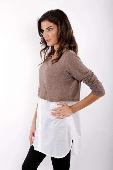 5d33fdb35adb μπλουζα θηλασμου shirt layer - Free delivery over 80€ - koupepe.com