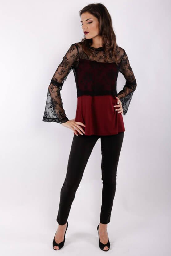 μπλούζα θηλασμού Lace chic